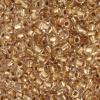 Seedbead 2/0 Crystal Gold Lined Metallic